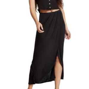 Free People | Smoke & Mirrors Faux Wrap Skirt